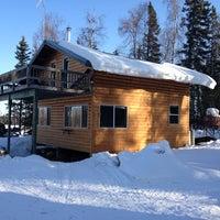 Photo taken at Denali View Lodge by Tomer S. on 3/19/2013