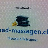 Photo taken at Roman Flubacher Medizinische Massagen by Rene F. on 7/26/2013