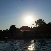 Photo taken at Conrad Pool by Murat Ö. on 7/17/2014