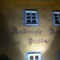 Photo taken at Ex Posta ristorante by Stefan O. on 11/4/2012