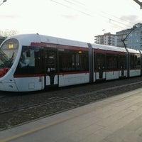 Photo taken at Üniversite Tramvay Durağı by ✌ on 1/16/2013