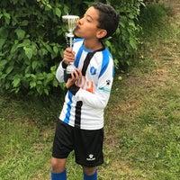 Photo taken at Voetbalvereniging DVV by francis h. on 6/4/2017