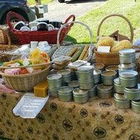 Photo taken at Farmers Market at Glassgow Park by Debbie Grier H. on 6/9/2017