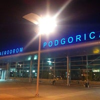 Photo taken at Podgorica Airport (TGD) by Kristoplina on 6/16/2013
