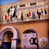 Photo taken at Quisisana Grand Hotel by Antonio P. on 10/25/2012
