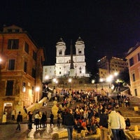 Photo taken at Piazza di Spagna by Antonio P. on 4/17/2013