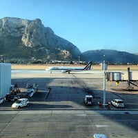 Photo taken at Palermo Airport (PMO) by Antonio P. on 6/4/2013