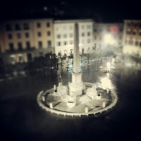 Photo taken at Piazza Aranci by Akio T. on 3/6/2013