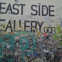 Photo taken at East Side Gallery by Ната Г. on 4/10/2013