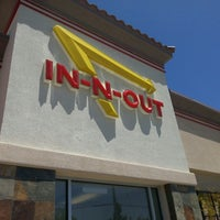 Photo taken at In-N-Out Burger by Steve T. on 6/1/2013