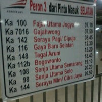 Photo taken at Pasar Senen Station by Muchamad F. on 12/6/2012