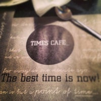 Photo taken at Times Cafe by Vitaly B. on 1/8/2013