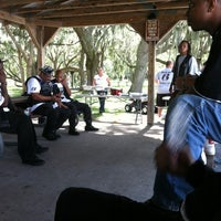 Photo taken at Chisholm Park by Tony F. on 10/6/2012