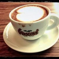 Photo taken at Cafe Vescovi by Linda O. on 3/21/2013