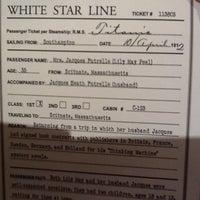 Photo taken at Titanic: 100th Anniversary Exhibit by Reeta E. on 9/29/2012