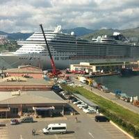 Photo taken at İzmir Limanı by İlker on 4/9/2013