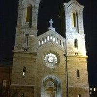 Photo taken at Kaarli kirik by Valentin J. on 12/23/2012