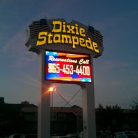 Photo taken at Dixie Stampede by Hollie P. on 10/26/2012