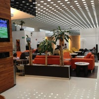 Photo taken at The Centurion Lounge by American Express by Ismael S. on 6/16/2013