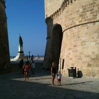 Photo taken at Castello Aragonese by Luca C. on 7/17/2013