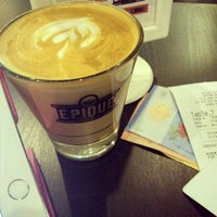 Photo taken at Epique Coffee Company by Nina N. on 4/12/2016