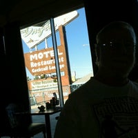 Photo taken at Drifter Motel, Restaurant and Lounge by Phyllis G. on 10/9/2012