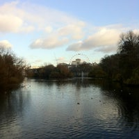 Photo taken at St James's Park by Giulia Z. on 11/29/2012