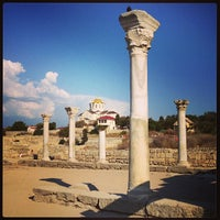 Photo taken at Chersonesus by Kate B. on 8/25/2013