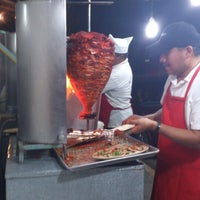 Photo taken at Tacos Garcia by Andres S. on 5/18/2013