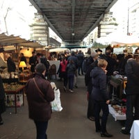 Photo taken at Marché de Grenelle by Antonio F. on 2/16/2013