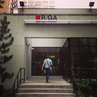 Photo taken at R/GA by Dylan V. on 7/23/2013