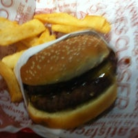 Photo taken at Red Robin Gourmet Burgers by Tyler S. on 1/1/2013