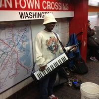 Photo taken at MBTA Downtown Crossing Station by Eric &. on 12/13/2012