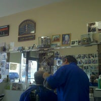 Photo taken at Ideal Barber Shop by Matthew M. on 11/29/2012