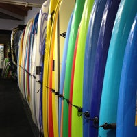 Photo taken at Jack's Surfboards by John E. on 6/8/2013