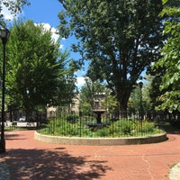 Photo taken at Fitler Square by Kate P. on 8/14/2016