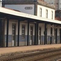 Photo taken at Estação de Cête by Maria R. on 4/18/2016