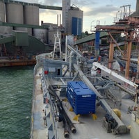 Foto diambil di Slite Industrihamn oleh Thomas A. pada 8/4/2013