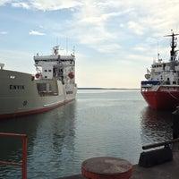 Foto diambil di Slite Industrihamn oleh Thomas A. pada 7/27/2014