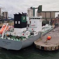 Photo prise au Slite Industrihamn par Thomas A. le10/23/2014