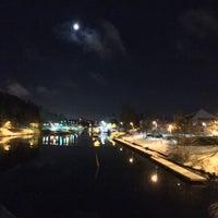 Photo taken at Södertälje sluss by Thomas A. on 11/9/2016