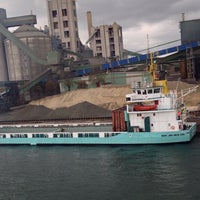 Foto diambil di Slite Industrihamn oleh Thomas A. pada 10/15/2014