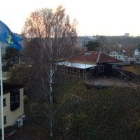 Photo taken at Södertälje sluss by Thomas A. on 11/2/2014