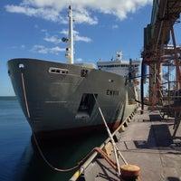 Foto diambil di Slite Industrihamn oleh Thomas A. pada 7/16/2014