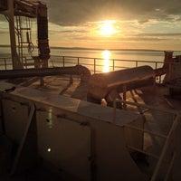Foto diambil di Slite Industrihamn oleh Thomas A. pada 8/15/2014