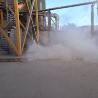 Foto diambil di Slite Industrihamn oleh Thomas A. pada 10/11/2014