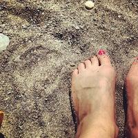 Photo taken at Papeete Beach by kamikaetzelein on 9/13/2013