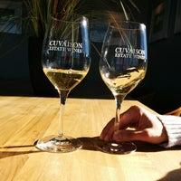 Photo taken at Cuvaison Estate Wines by Ken W. on 2/1/2014