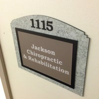 Photo taken at Jackson Chiropractic and Rehabilitation by Clancy K. on 3/2/2013