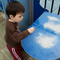 Photo taken at Hester Street Playground by Matthew M. on 10/25/2015